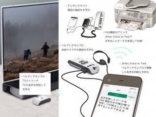 音声認識用集音マイク・情報受信装置・会議用拡聴器